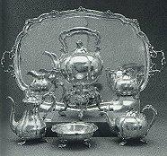Silver Tea Service small
